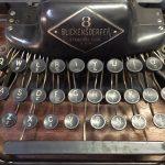 Blickensderfer No.8 Keyboard