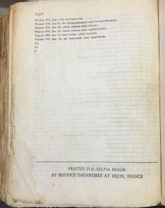 Last page of Ulysses