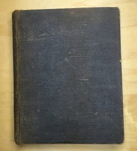Front cover of Copperfield's copy of Ulysses,