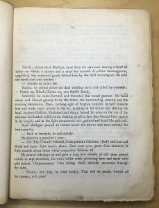 First page of Ulysses.