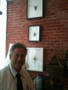 04-19-2012. My dad, John, was the one who had the idea to sell Pheromone's mounted insects, along with a lot of the other ultra-cool things we sell. He's awesome.